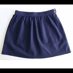 Madewell Medium Navy Blue Mini Skirt